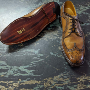 JR Leather Florsheim Imperial Wingtip Full Restoration