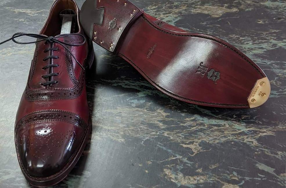 Shoe Repair - Men's Full Sole